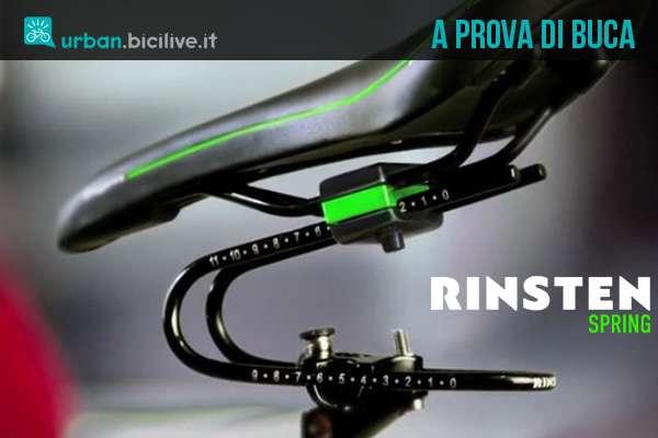 Rinsten Spring: ammortizzatore sella bici universale