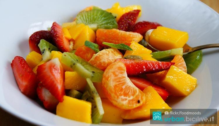 macedonia di frutta per lo sportivo