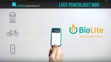 luce per bici powerlite mini