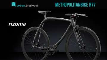bicicletta single speed Rizoma Metropolitanbike R77