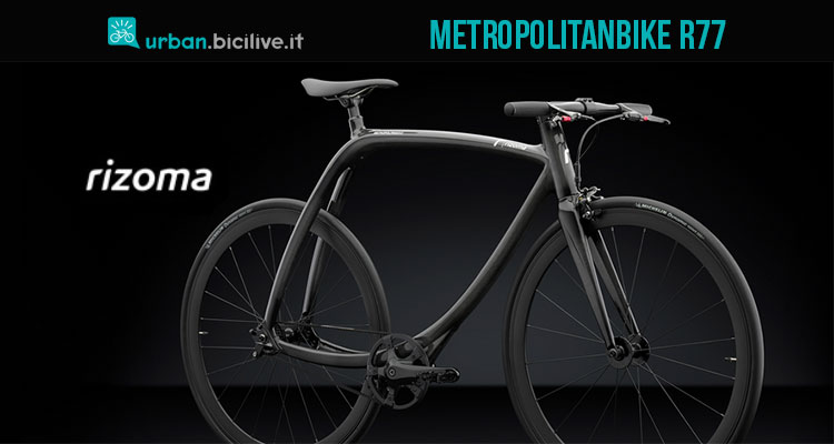 bicicletta single speed Rizoma Metropolitanbike R77