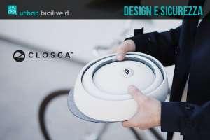 Closca Fuga: casco pieghevole per ciclisti di design