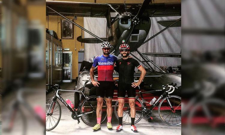 alessandro Tino fondatore di sartoria ciclistica