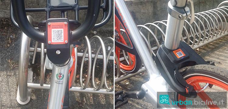 codice qr nelle bici mobike