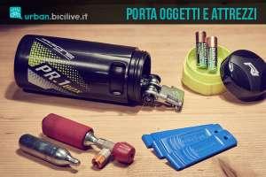 Porta attrezzi e oggetti per bici Raceone PR1 Box