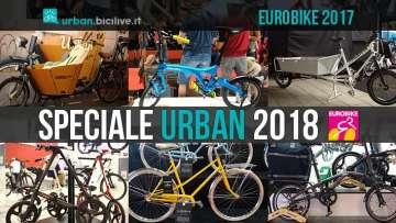 Eurobike: speciale bici da città 2018