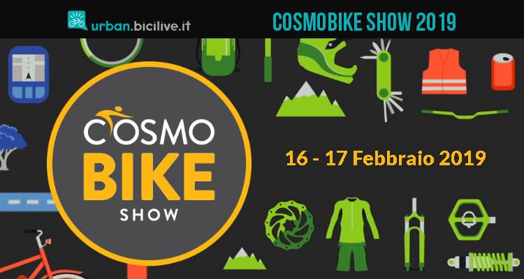 CosmoBike Show 2019: la fiera del ciclo a Verona dal 16 al 17 febbraio