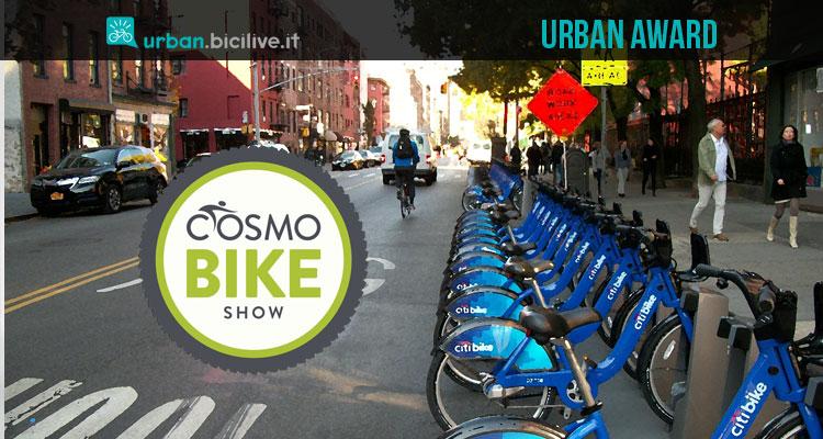 Urban Award: CosmoBike Show premia la mobilità sostenibile