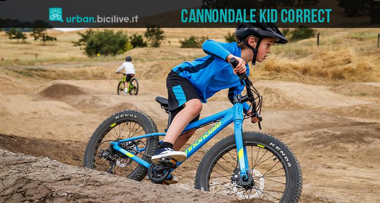 Cannondale Kid Correct 10 Modelli Di Bici Per Bambini