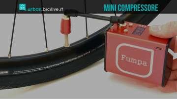 Mini compressore per gomme bici Fumpa