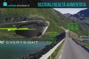 occhiali da ciclismo con realtà aumentata everysight raptor
