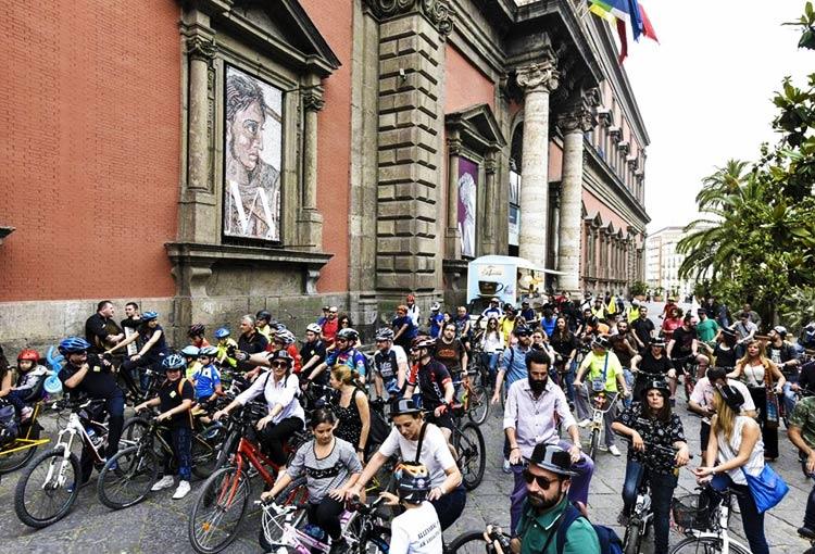 foto di un momento del Napoli Bike Festival 2017