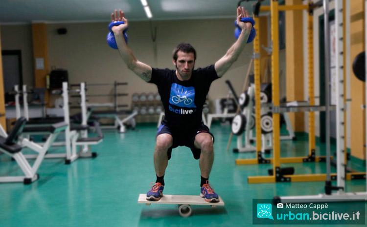 balance board per migliorare la propriocezione