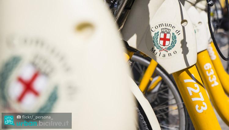 biciclette di bikemi del comune di milano