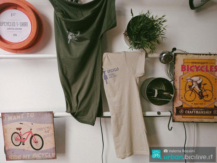 magliette e oggetti di design upcycle milano