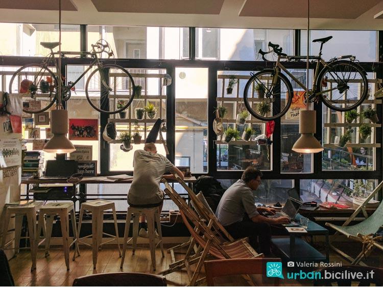 spazio relax upcycle milano bike cafe