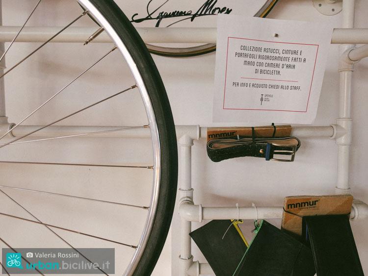 oggetti di design artigianale al bike cafe milano