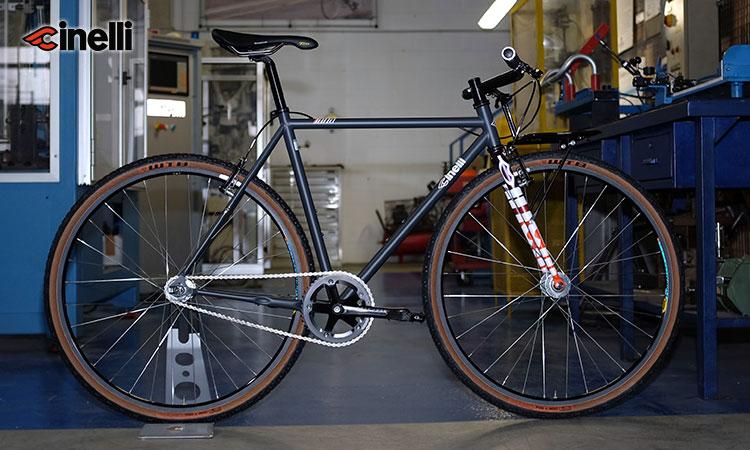 Una bici da città Cinelli Tutto Heavy Duty