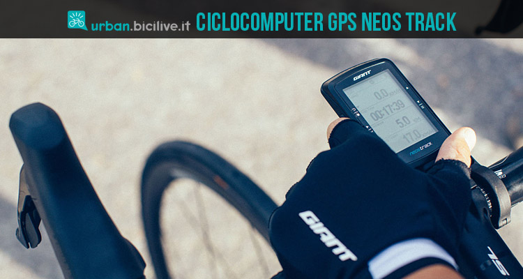 giant neos track ciclocomputer gps