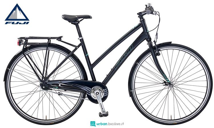 city bike fuji absolute con cambio al mozzo