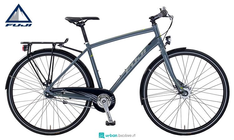 city bike fuji dal catalogo 2018