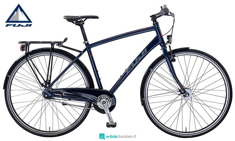 bici urban fuji con cambio al mozzo nexus