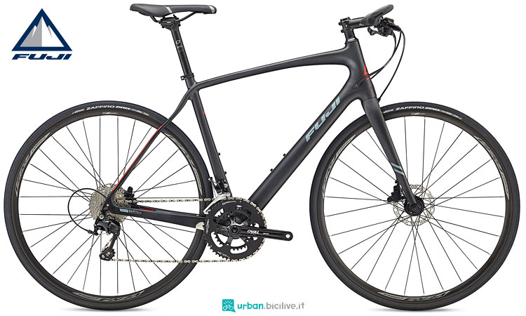 Absolute Carbon bici fitness in carbonio