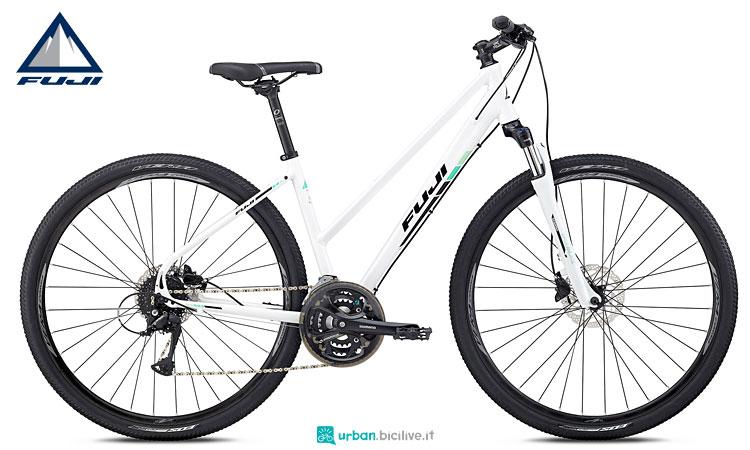 bici da donna urban fuji traverse