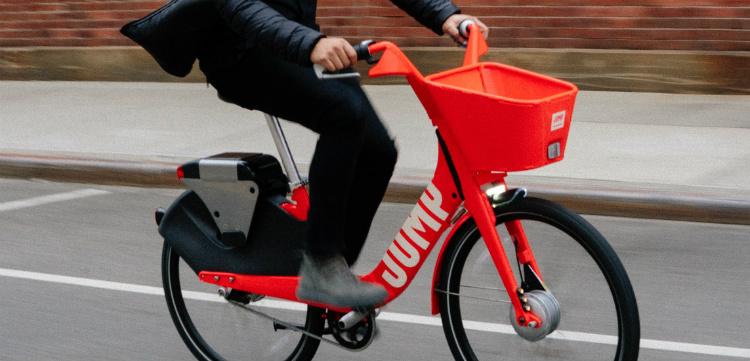 Uber compra Jump Bikes
