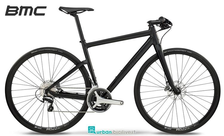 Una bici urbana della linea Lifestyle Alpenchallenge AC01 Two di BMC