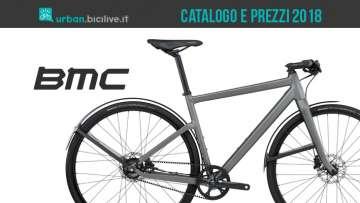 BMC bici da città: catalogo e listino prezzi 2018