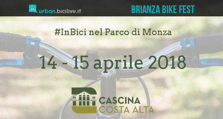 Brianza Bike Fest 2018 festival della bici nel parco