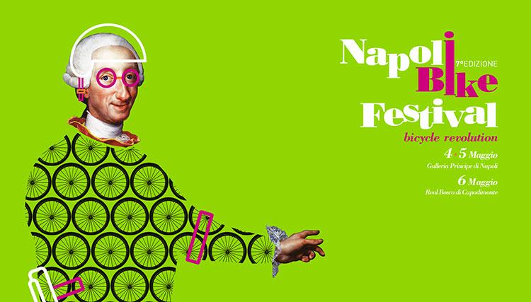 La locandina del Napoli Bike Festival 2018