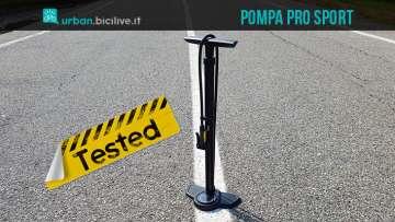 foto della pompa per bici PRO sport