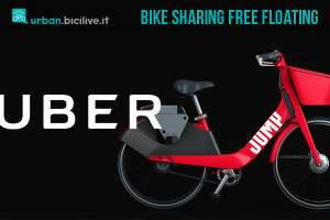 Uber bike sharing free floating