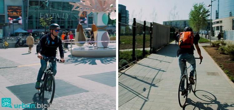 foto di ebike e bici della comparativa mezzi urbani