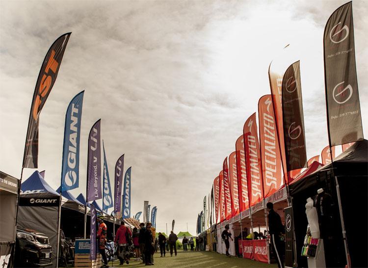 Stand al bike tour 2017 a Formello nel lazio