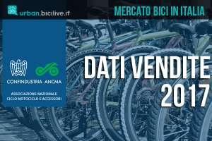 I dati di ANCMA sul mercato delle biciclette 2017 in Italia