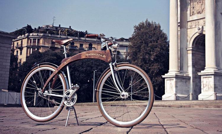 bici in legno Speciale