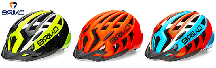 foto dei caschetti Briko Aries adatti per tutti i ciclisti e per e-bike