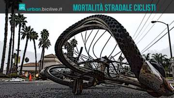 Tasso mortalità stradale ciclisti: Italia fra i primi Paesi al mondo