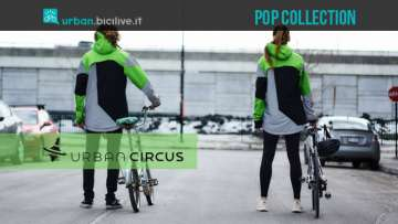 Pop Collection Urban Circus giubbotto bici alta visibilità