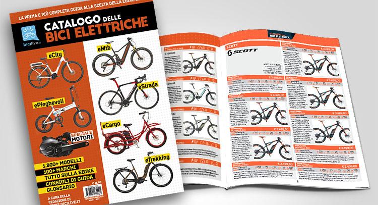 Il Catalogo delle Bici Elettriche 2018 prodotto da Bicilive.it