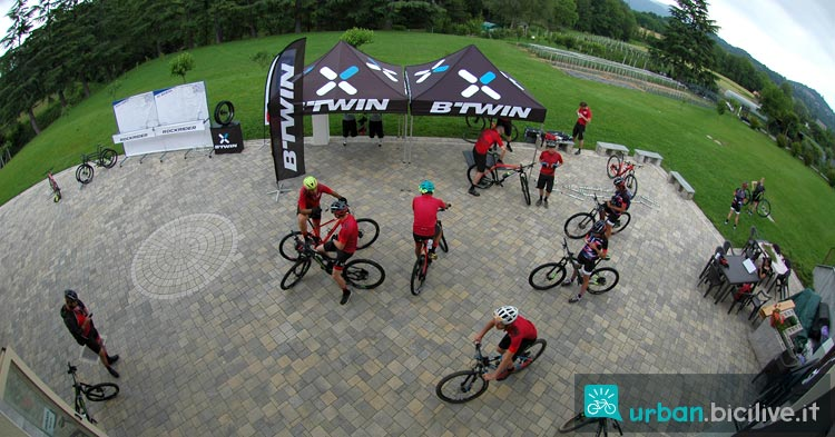 mtb Decathlon con Switch & Ride