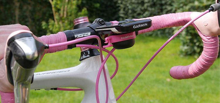 campanello Hide My Bell dal colore rosa