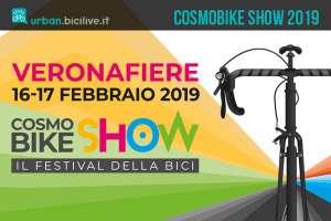 locandina della fiera del ciclo CosmoBike Show 2019