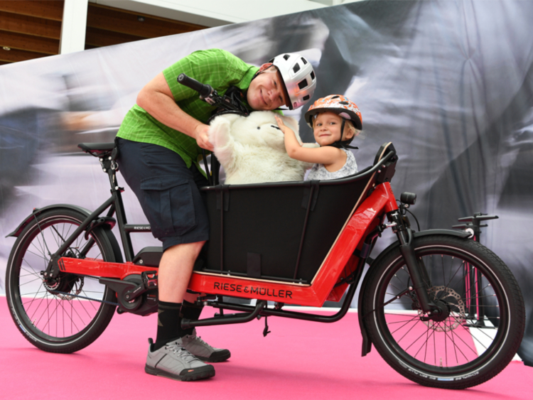 Cargo bike a Eurobike 2018