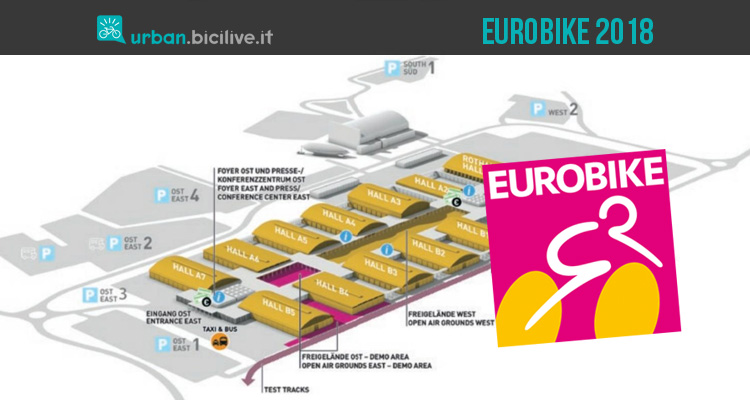 Eurobike 2018: fiera del ciclo a Friedrichshafen 8-10 luglio