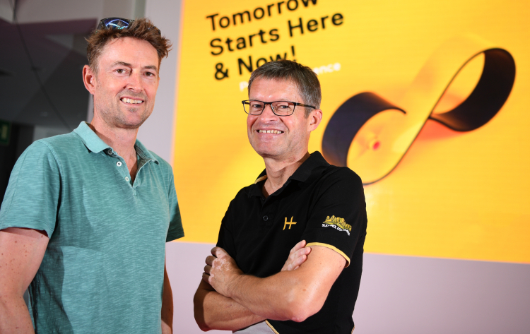 Eurobike 2019: Il direttore Stefan Reisinger e il CEO Klaus Wellmann