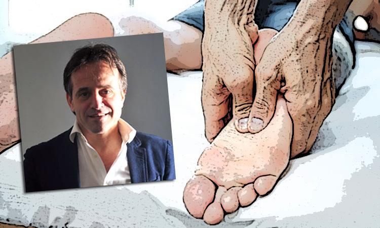 Ivano Lualdi massofisioterapista specializzato nelle patologie del piede e riflessologo plantare